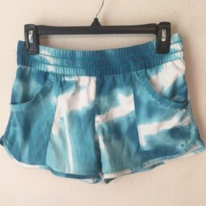 Lululemon Tie Dye Running Shorts